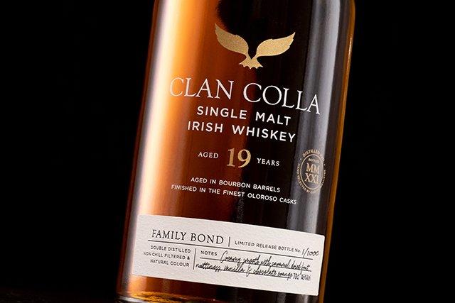 Irish Whiskey Magazine - McAllister Irish Spirits. Clan Colla. 19 YO Single Malt