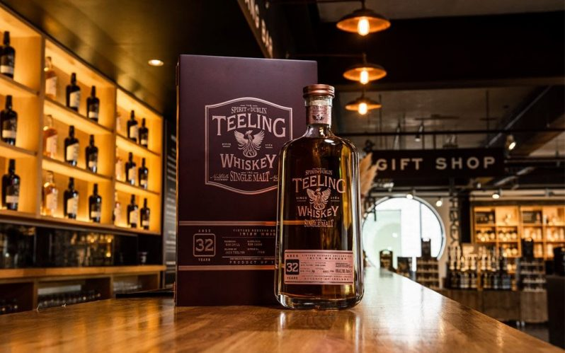 Teeling Whiskey release rare 32-Year-Old single malt Irish whiskey