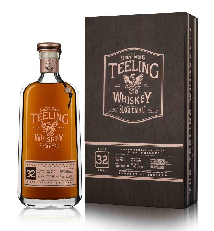 Teeling 32yo single malt Irish whiskey