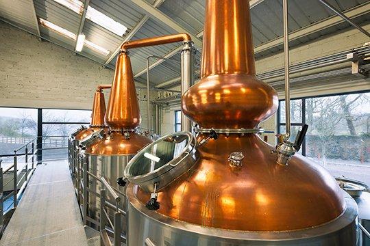 Irish Whiskey Magazine - Connacht Irish Whiskey pot stills