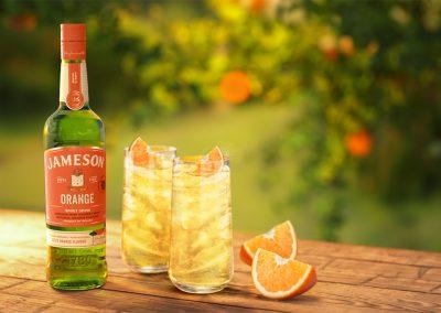 New Jameson Orange - Jameson Irish whiskey with natural zesty orange flavour