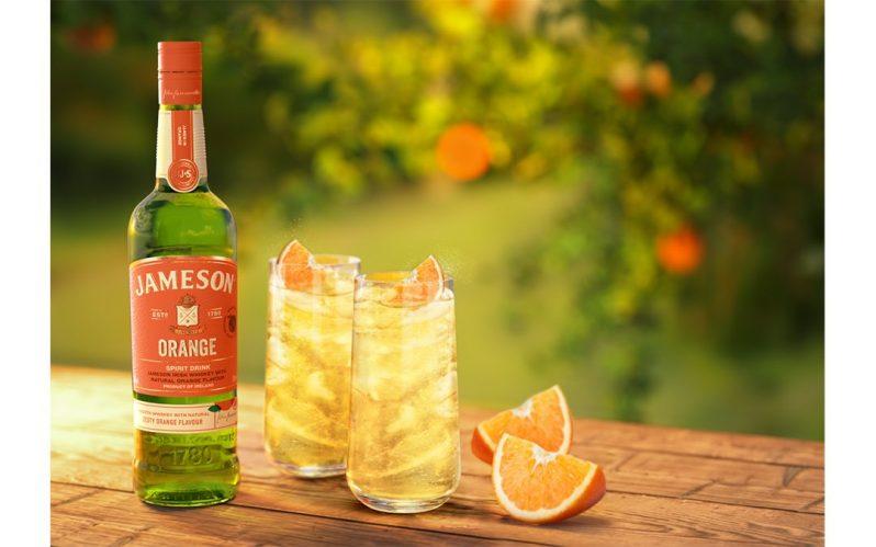 New Jameson Orange – Jameson Irish whiskey with natural zesty orange flavour