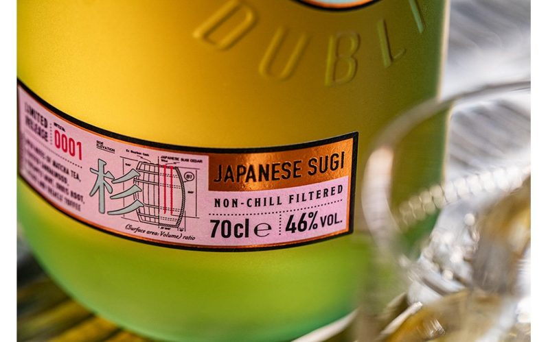 Roe & Co reimagines Irish whiskey with the launch of Japanese Sugi