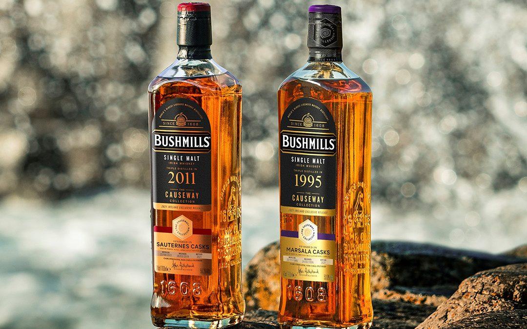 Bushmills Irish Whiskey unveils 2021 Causeway Collection
