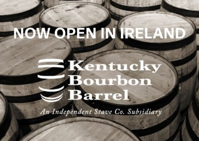 Kentucky Bourbon Barrel opens Irish operation - a potential game changer for Irish whiskey producers