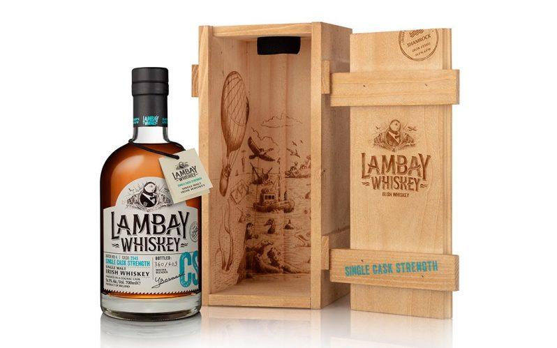 Lambay Whiskey release cask strength single malt cask no. 2545