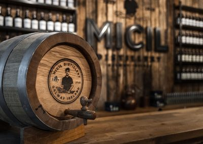 Micil cask offering - Galway whiskey history in the making