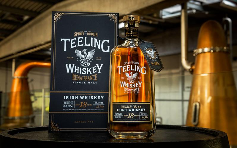 Teeling Whiskey unveils fourth bottling in Renaissance Single Malt Series