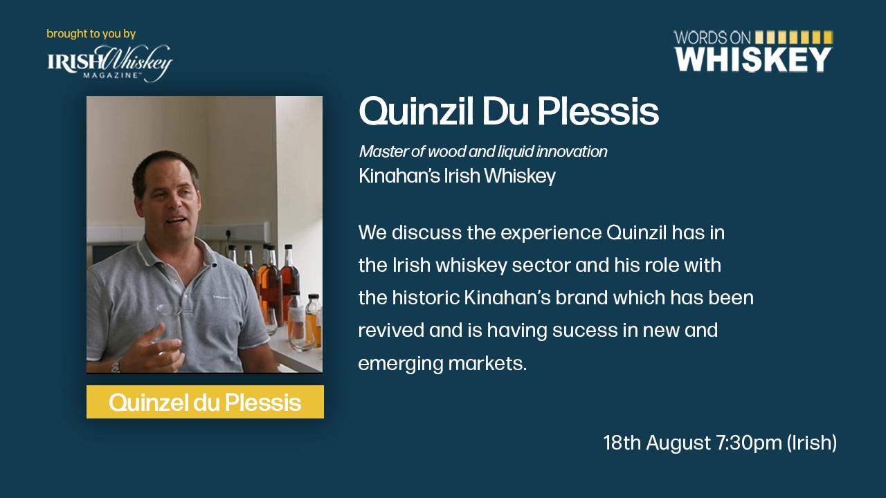 Words on Whiskey Ep 51 - Kinahan's Irish Whiskey