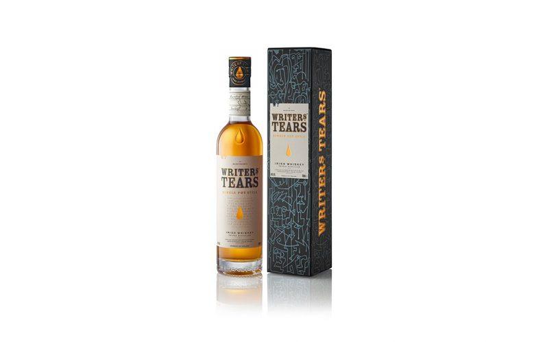 Writers Tears Single Pot Still Irish whiskey bottle
