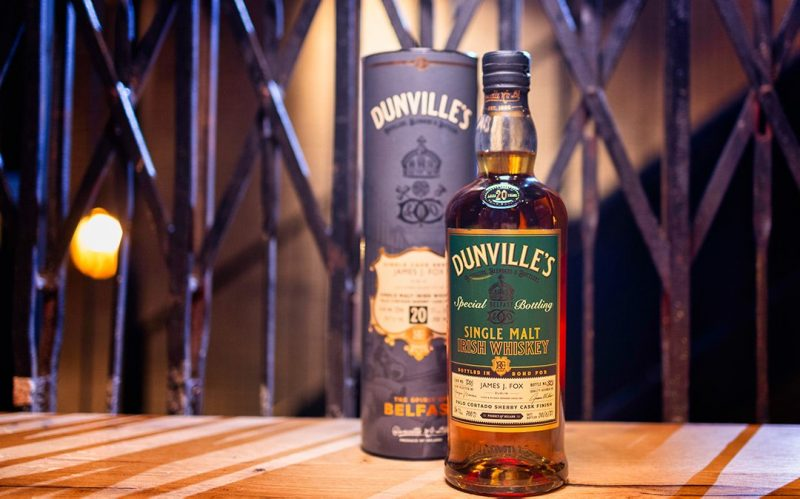 Dunville's and James J. Fox release 20 Year Old Palo Cortado Sherry Cask Finish Single Malt