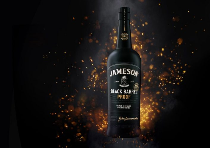 New Jameson Irish whiskey release – Jameson Black Barrel Proof